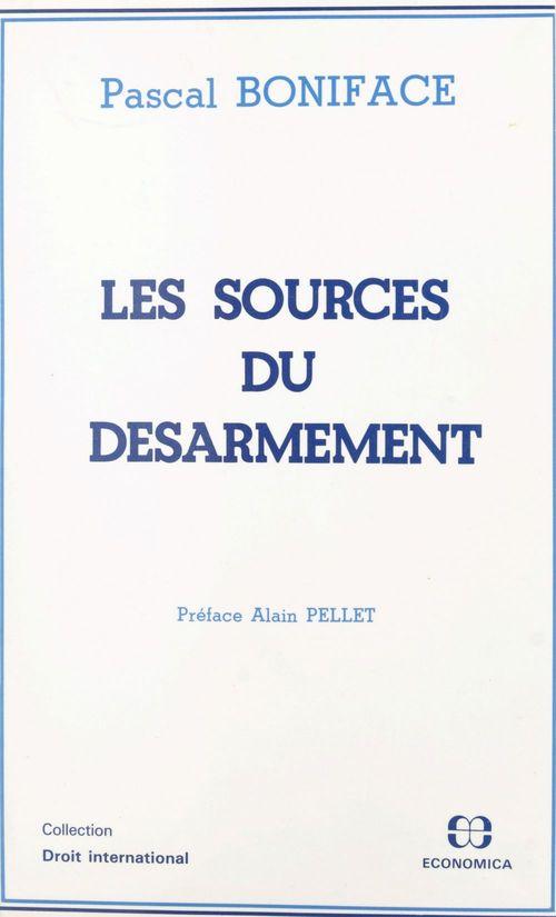 Sources du desarmement