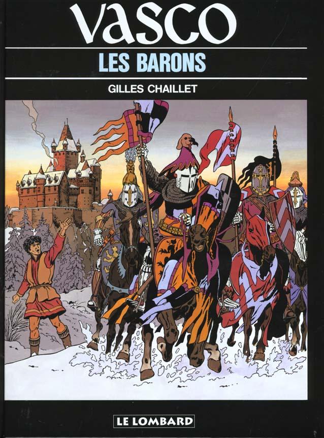 Vasco t.5 ; les barons