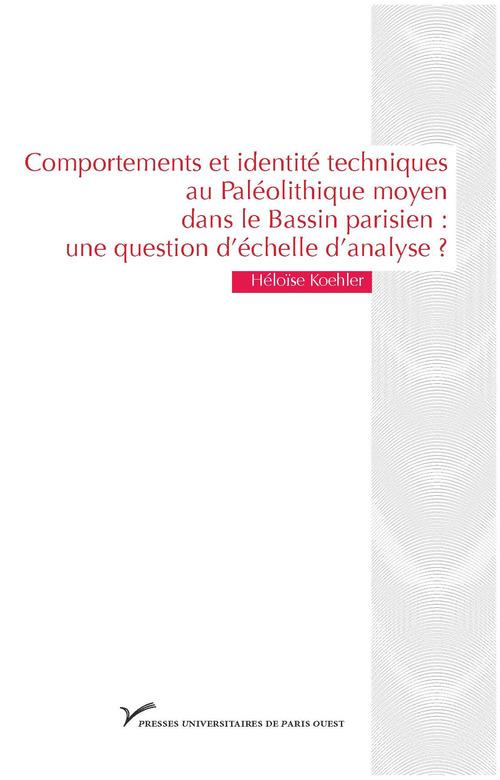 Comportements et identité techniques au Paléolithique moyen dans le Bassin parisien: une question d´échelle d´analyse?