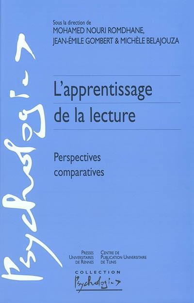 Apprentissage de la lecture ; perspectives comparatives
