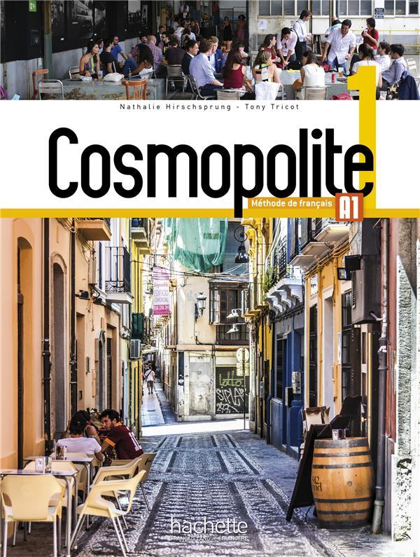 Cosmopolite 1 : Livre De L'Eleve + Dvd-Rom + Parcours Digital