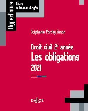 Droit des obligations (édition 2021)