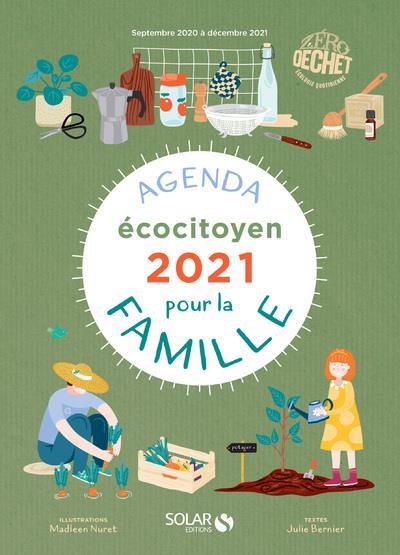 Agenda écocitoyen de la famille (édition 2021)