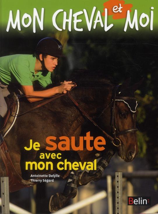 Je saute avec mon cheval