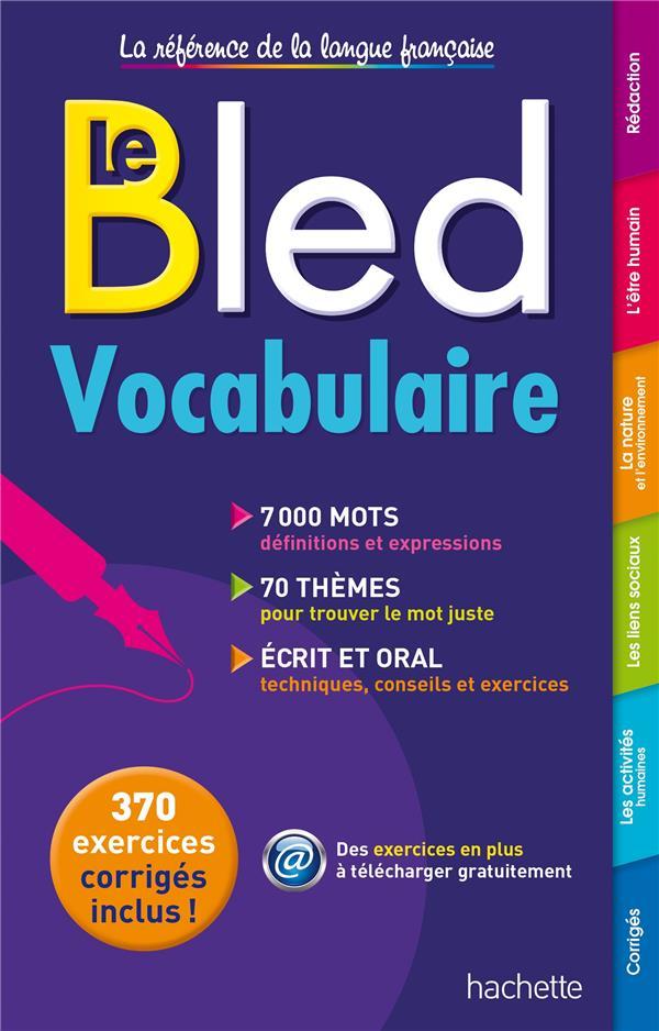BLED  -  VOCABULAIRE
