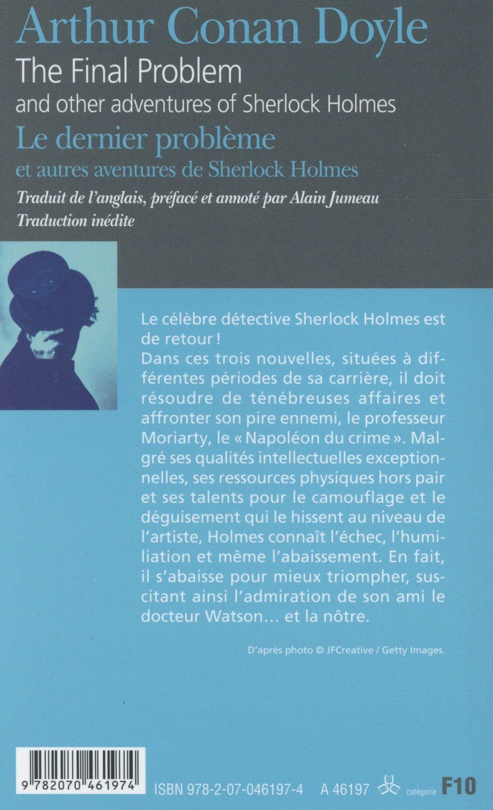le dernier problème et autres aventures de Sherlock Holmes