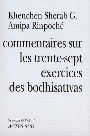 Commentaires Sur Les Trente-Sept Exercices Des Bodhisattvas
