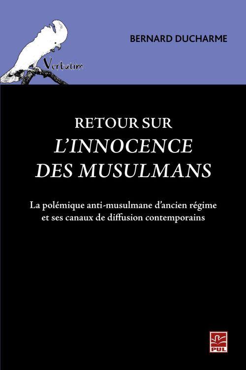 Retour sur l'innocence des musulmans