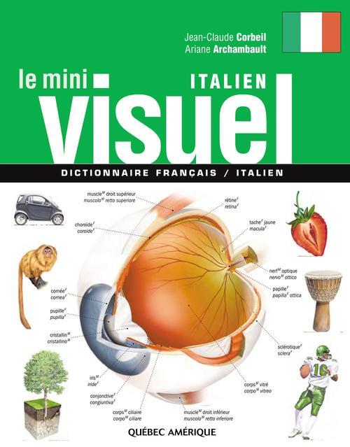 Le mini visuel ; dictionnaire français / italien