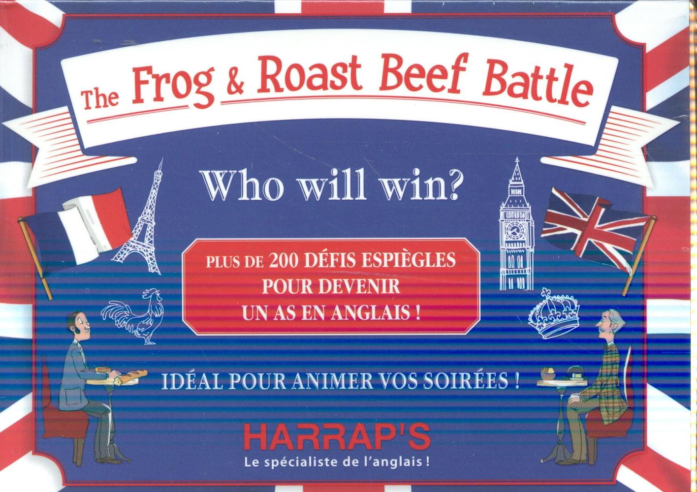 The frog and roast beef battle