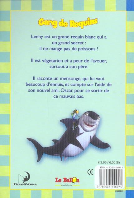 Gang de requins ; les mensonges de lenny