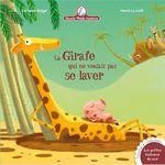 Vente Livre Numérique : Mamie Poule raconte - La girafe qui ne voulait pas se laver  - Christine Beigel