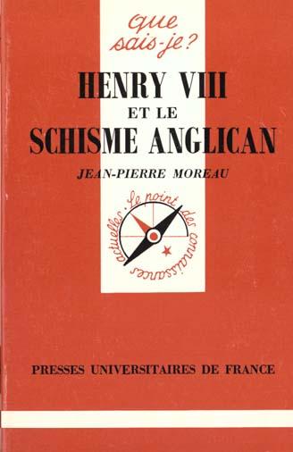 Henry viii et le schisme anglican qsj 2858