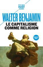 Couverture de Le capitalisme comme religion