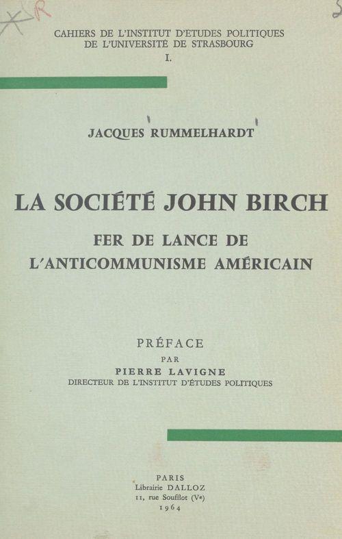 La société John Birch