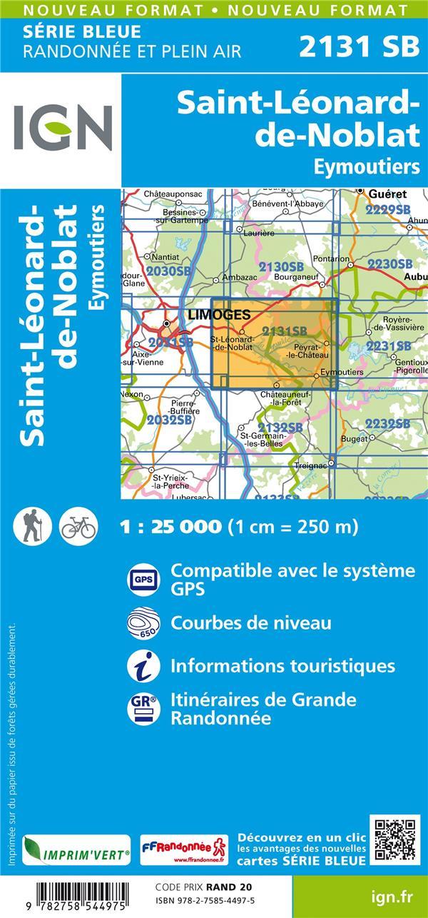 2131SB ; Saint-Léonard-de-Noblat