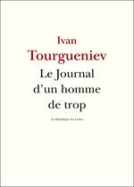 Vente Livre Numérique : Le Journal d'un homme de trop  - Ivan Tourgueniev