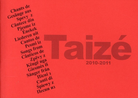 Chants de Taizé (édition 2010-2011)