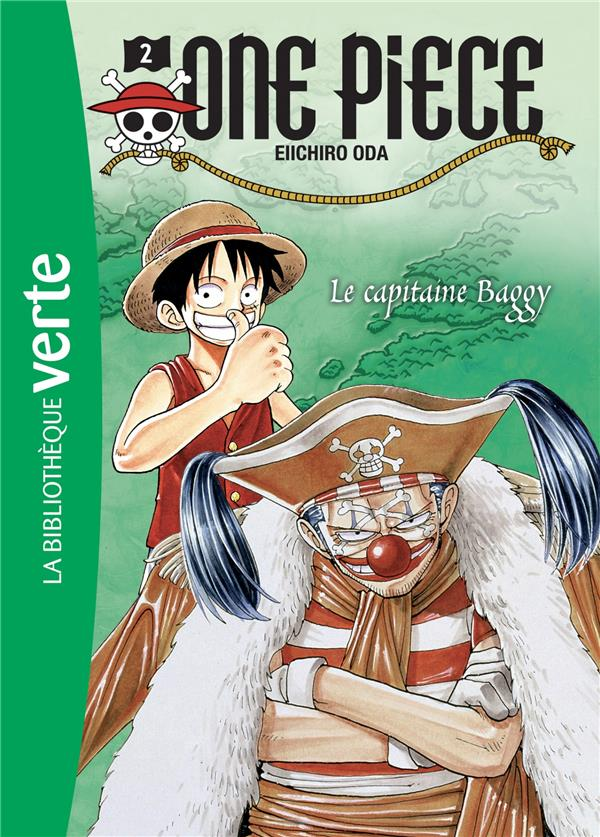 One Piece T.2 ; Le Capitaine Baggy
