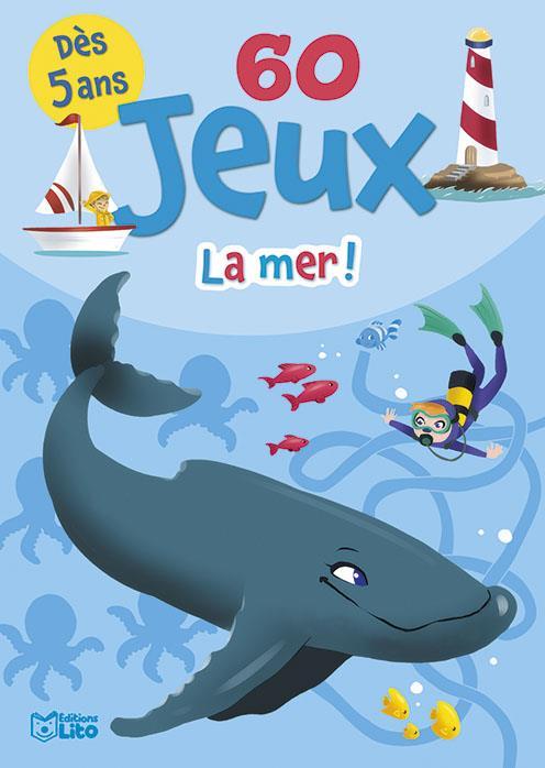 LES BLOCS JEUX  -  60 JEUX LA MER !