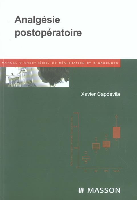 Analgesie Post-Operatoire