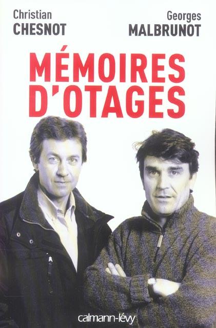 mémoires d'otages