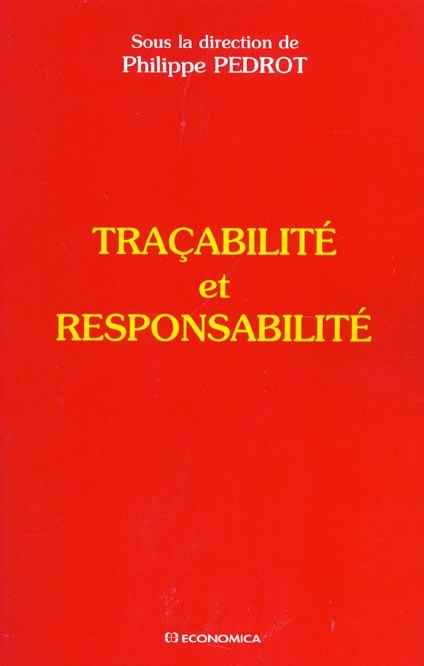 Tracabilite Et Responsabilite