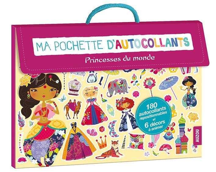 MA POCHETTE D'AUTOCOLLANTS - SPECIAL PRINCESSES DU MONDE (COLL. MA POCHETTE D'AR Guesn