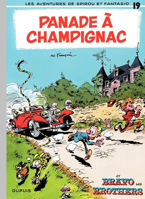 Les aventures de Spirou et Fantasio T.19 ; panade à Champignac