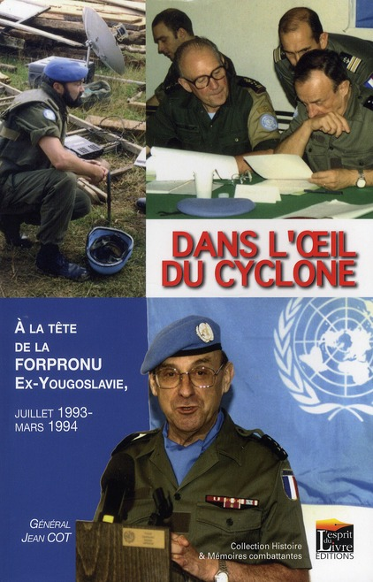 Dans l'oeil du cyclone ; 9 mois la tête de la Forpronu, ex-Yougoslavie (1993-1994)