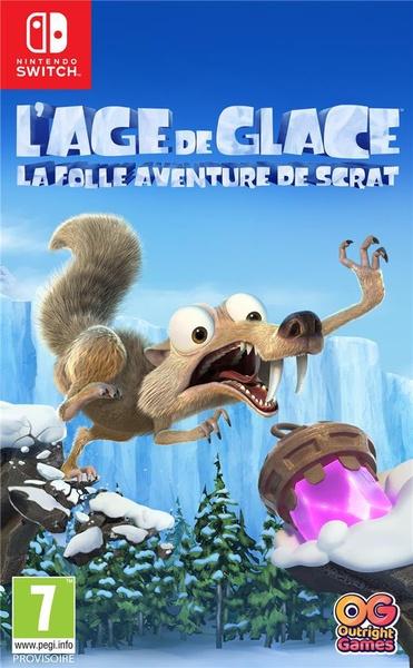 L'âge de glace : la folle aventure de scrat
