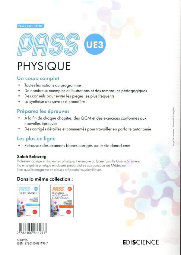 PASS UE3 ; physique