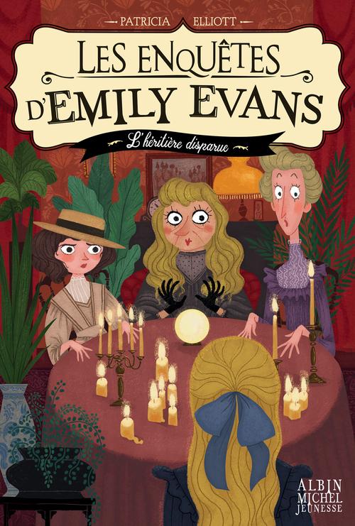 Les enquêtes d'Emily Evans T.1 ; l'héritière disparue