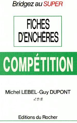 Fiches d'enchères ; compétition