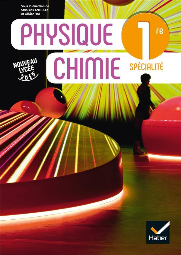 Physique-chimie ; 1re ; livre de l'élève (édition 2019)