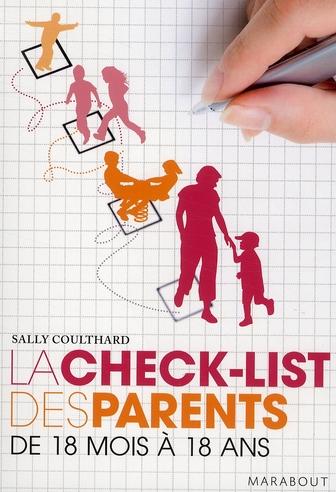 La check-list des parents ; de 18 mois à 18 ans