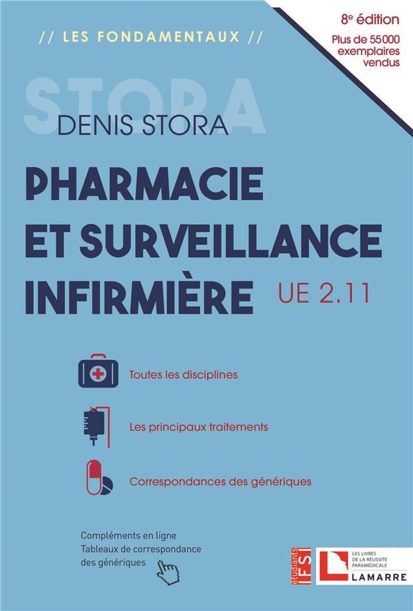 Pharmacie et surveillance infirmière ; UE 2.11 (8e édition)