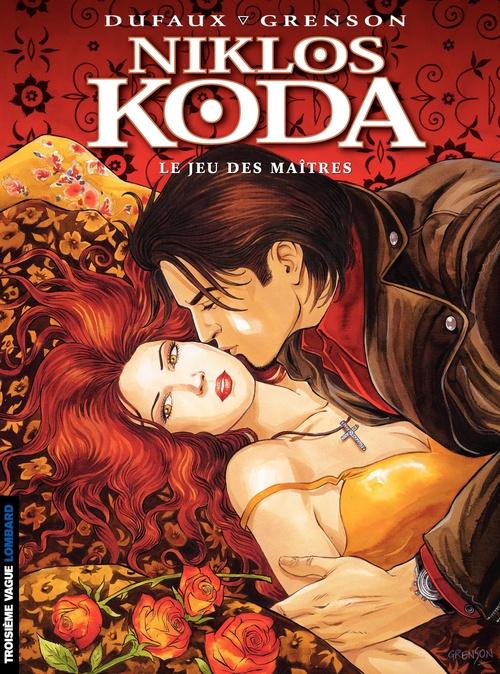 Niklos Koda T.8 ; le jeu des maîtres