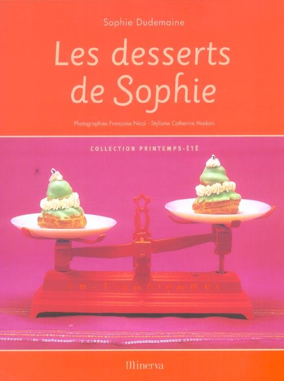 Desserts de sophie - collection printemps ete (les)
