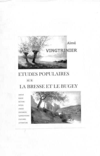 études populaires sur la Bresse et le Bugey