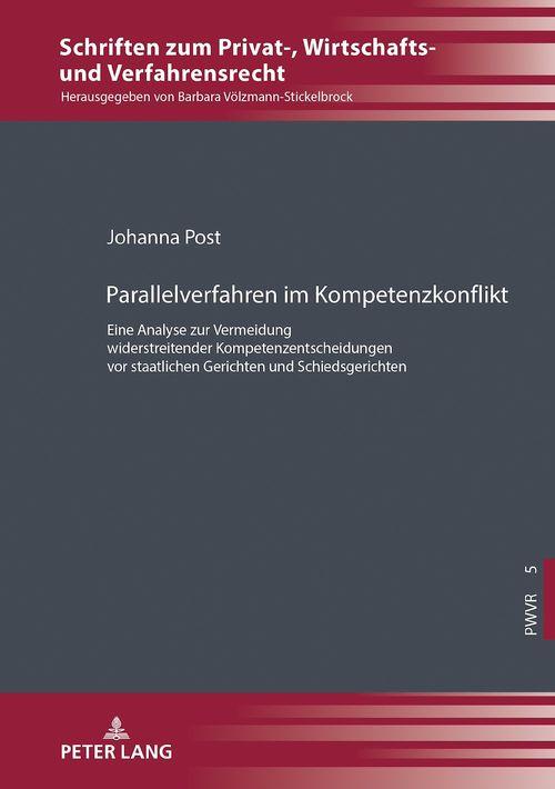 Parallelverfahren im Kompetenzkonflikt  - Johanna Post