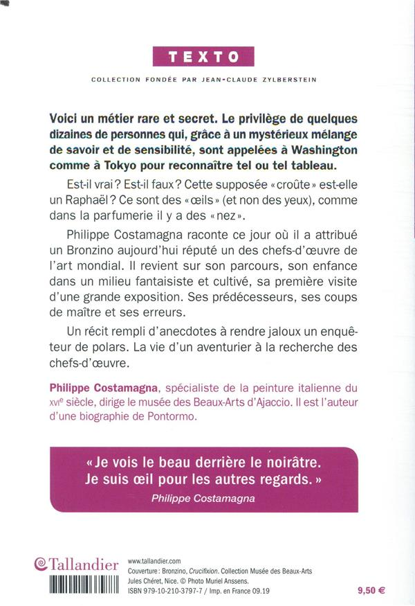 Histoire D Oeils A La Recherche Des Chefs D Oeuvre Philippe Costamagna Tallandier Poche Place Des Libraires