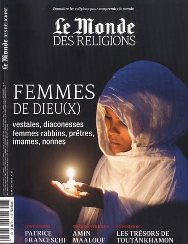 Le monde des religions n.95 ; mai-juin ; femmes de dieu(x)