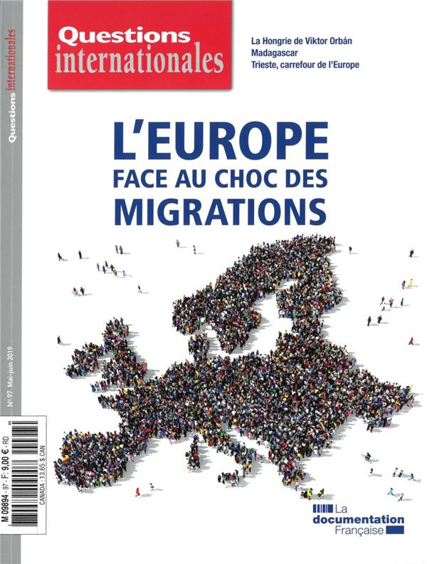 Revue questions internationales n.97 ; l'europe face au choc des migrations