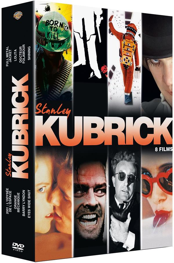 Stanley Kubrick - Coffret : Lolita + Docteur Folamour + Barry Lyndon + Full Metal Jacket + 2001, l'odyssée de l'espace + Orange mécanique + Shining + Eyes Wide Shut