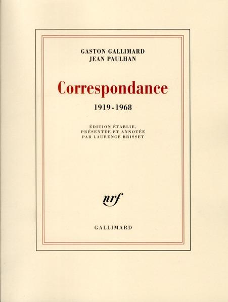 Correspondance (1919-1968)