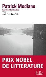 Vente Livre Numérique : L'horizon  - Patrick Modiano