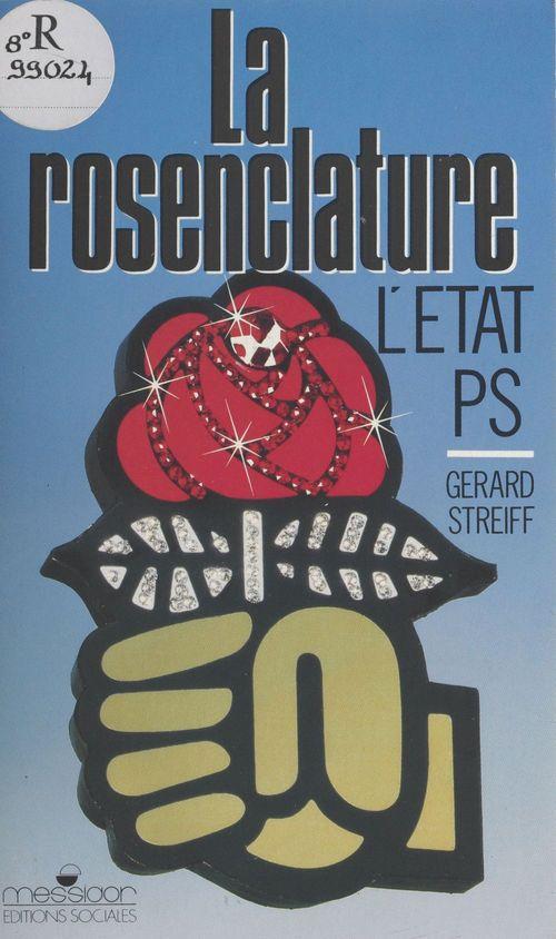 Rosenclature etat ps