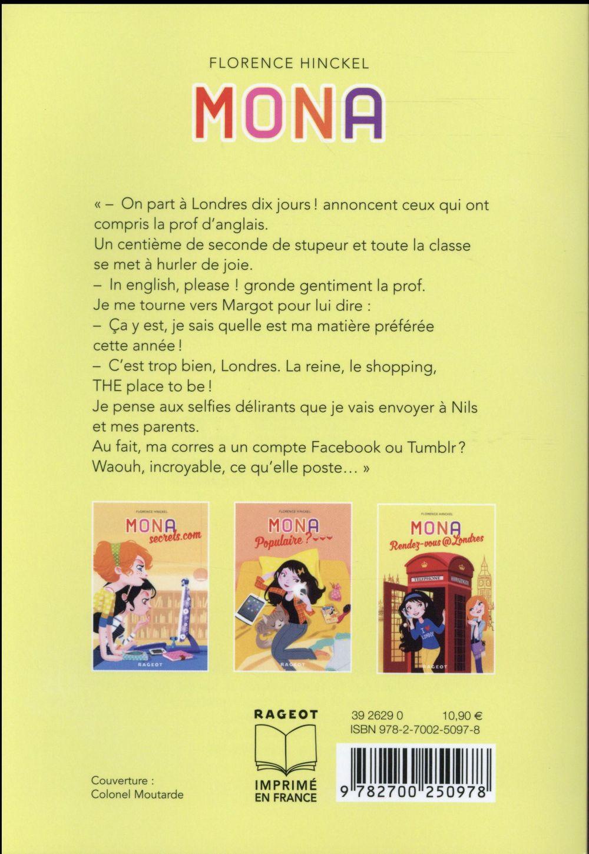 Mona ; rendez-vous@Londres