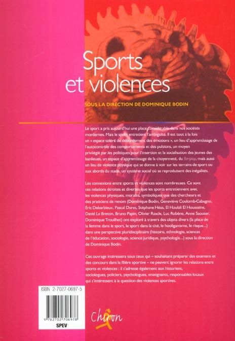 sports et violences